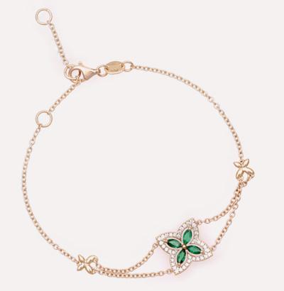 Fajer Emerald Bracelet