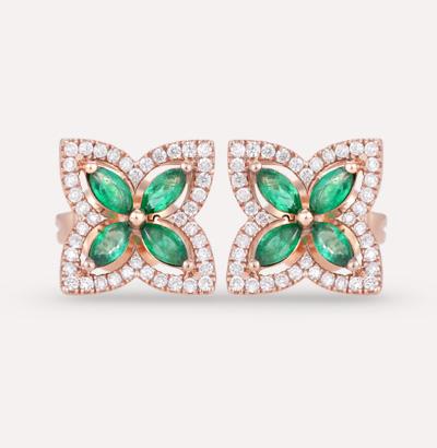 Fajer Emerald Earrings