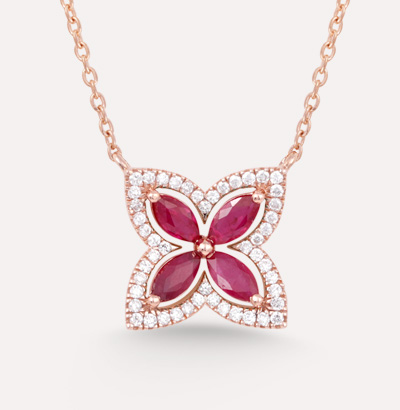 Fajer Ruby Necklace