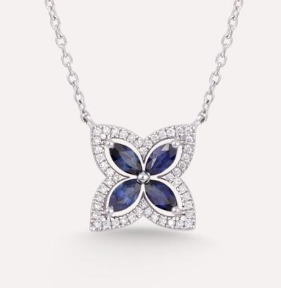 Fajer Sapphire Necklace