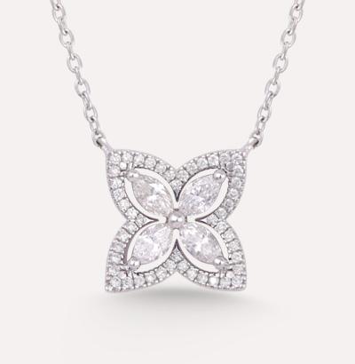 Fajer Diamond Necklace